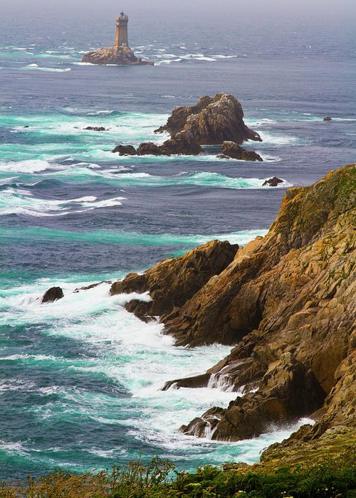 French Brittany Sea Side Finist\u00e8re Landscape Pointe du Raz Black and White Photography Image Poster Wall Art Pic Fine ART Print Sea Board