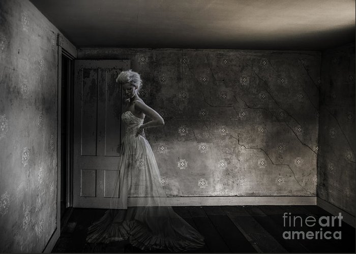 Ghost Greeting Card featuring the photograph Ghost Bride by Diane Diederich