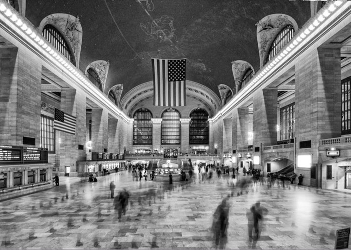 Grand Central Terminal Greeting Card featuring the photograph Grand Central Terminal by James Howe
