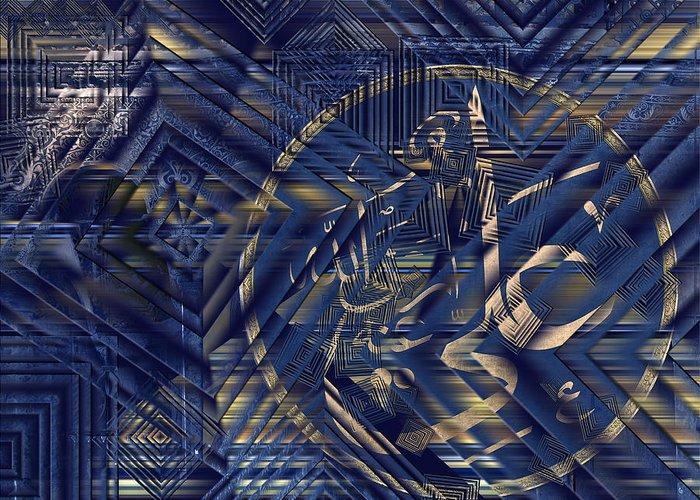 Istanbul Greeting Card featuring the digital art Hagia Sophia by Ayhan Altun