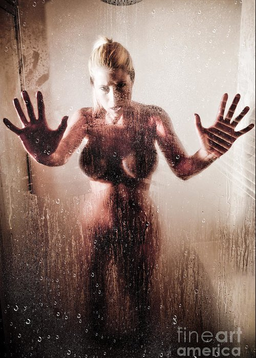 Hot Shower Greeting Card For Sale By Jt Photodesign