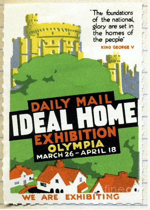 Ideal Home Exhibition Greeting Cards