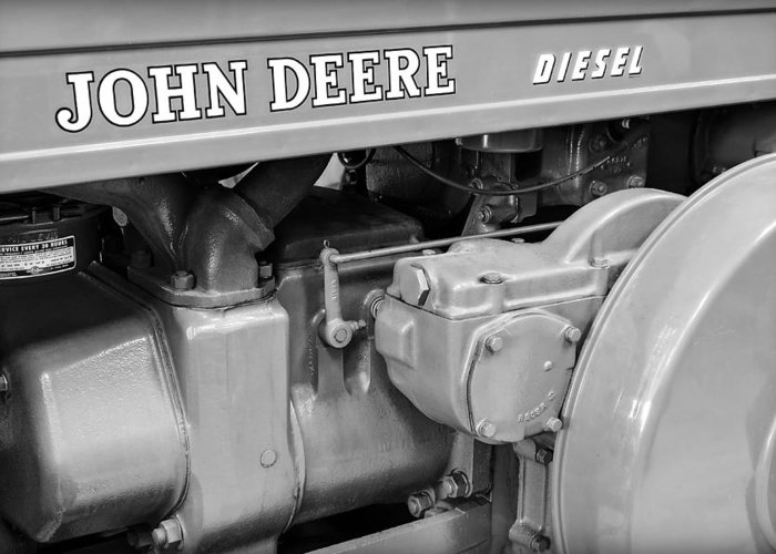 Diesel Greeting Card featuring the photograph John Deere Diesel by Susan Candelario