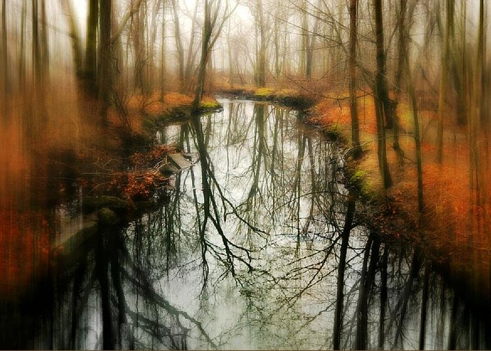 River Greeting Card featuring the photograph Just One Wish by Diana Angstadt