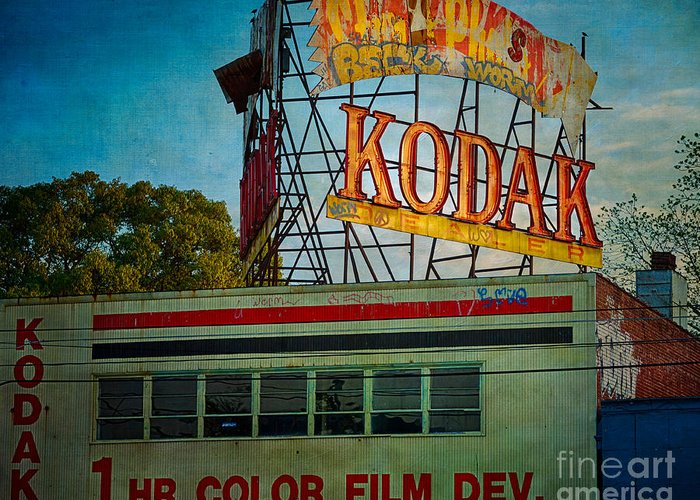 Kodak Greeting Card featuring the photograph Kodak's Moment by Doug Sturgess