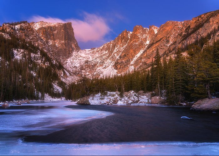 Lake Greeting Card featuring the photograph Lake Of Dreams by Darren White