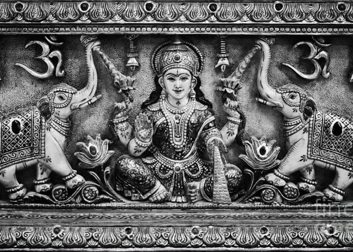 Lakshmi Greeting Card featuring the photograph Lakshmi by Tim Gainey