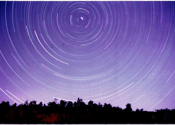 Greeting Card featuring the photograph Lawson Spin by Matthew Barton