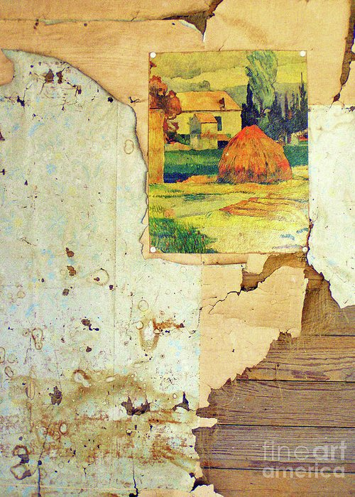 Abandoned House Greeting Card featuring the photograph Left Behind by Joe Jake Pratt