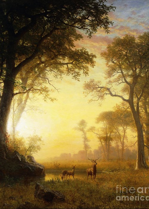 Romanticism Paintings Greeting Cards