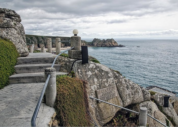 Minack Greeting Card featuring the photograph Minack Theatre - Porthcurno by Susie Peek