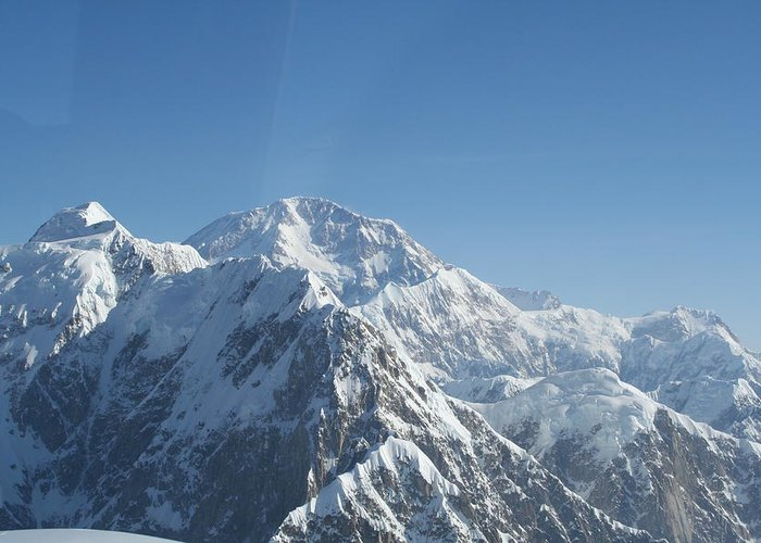 Scenic Greeting Card featuring the photograph Mt Mckinley by Dick Willis