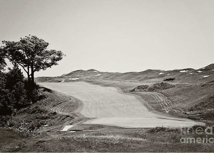 Golf Greeting Card featuring the photograph Ninth Hole by Scott Pellegrin