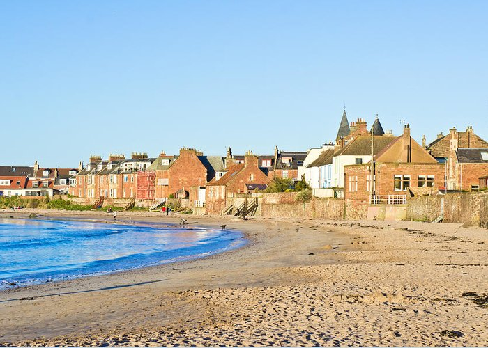 Attraction Greeting Card featuring the photograph North Berwick by Tom Gowanlock