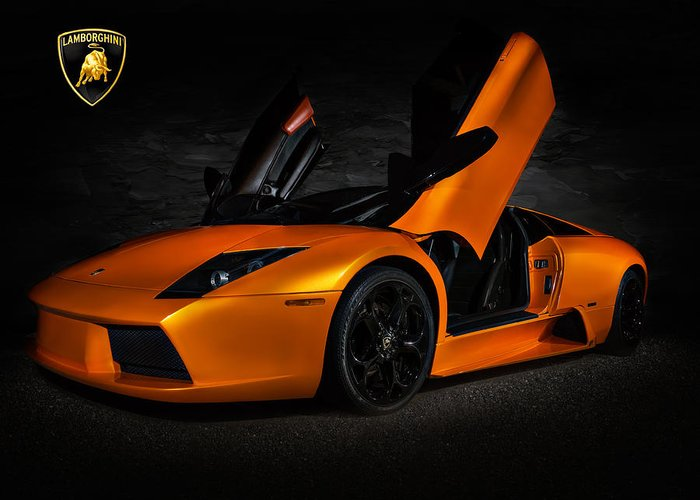 Supercars Greeting Cards