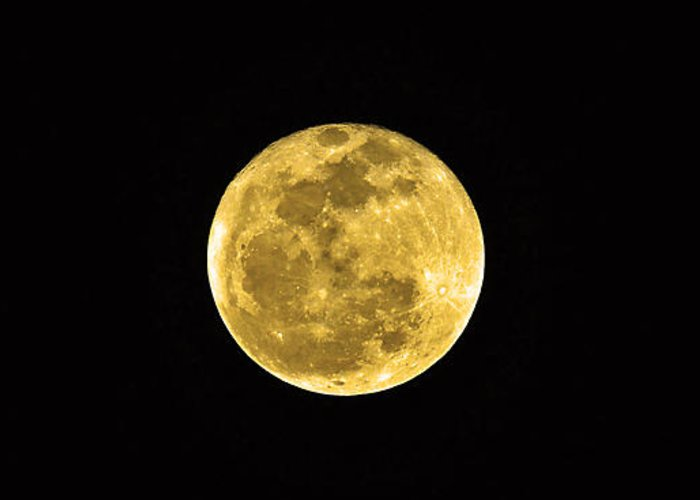 Moon Greeting Card featuring the photograph Passover Full Moon by Al Powell Photography USA