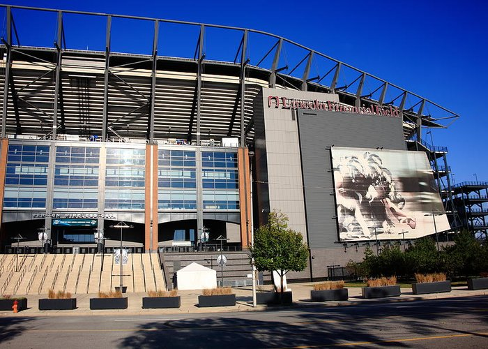 America Greeting Card featuring the photograph Philadelphia Eagles - Lincoln Financial Field by Frank Romeo