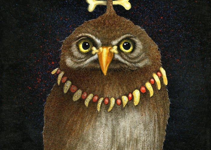 Pygmy Owl Greeting Cards