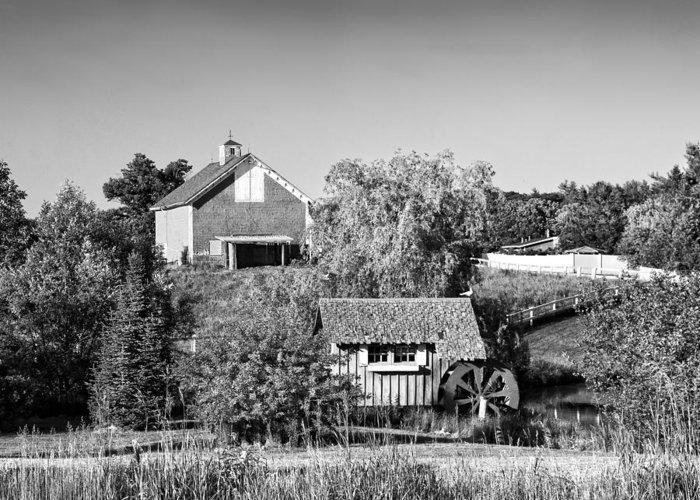 Old Maine Barns Digital Art Greeting Cards
