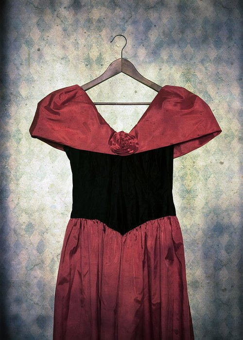 Dress Greeting Card featuring the photograph Red Dress by Joana Kruse