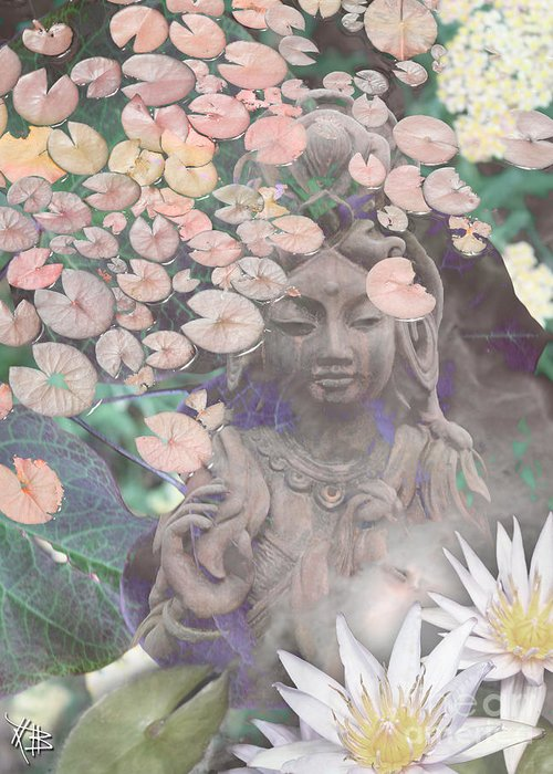 Kuan Yin Greeting Cards