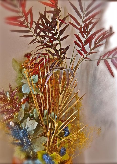 Still Life Photo Greeting Card featuring the photograph Remnants Of Summer by Randy Rosenberger