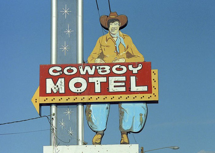 Historic Route 66 Greeting Cards