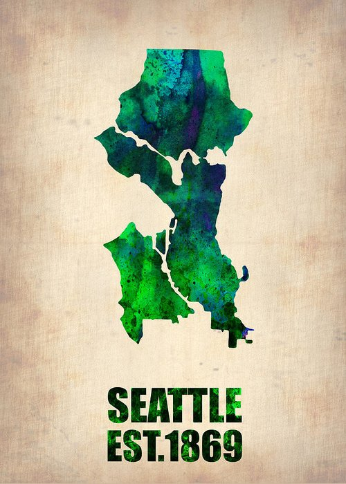 Seattle Washington Greeting Cards