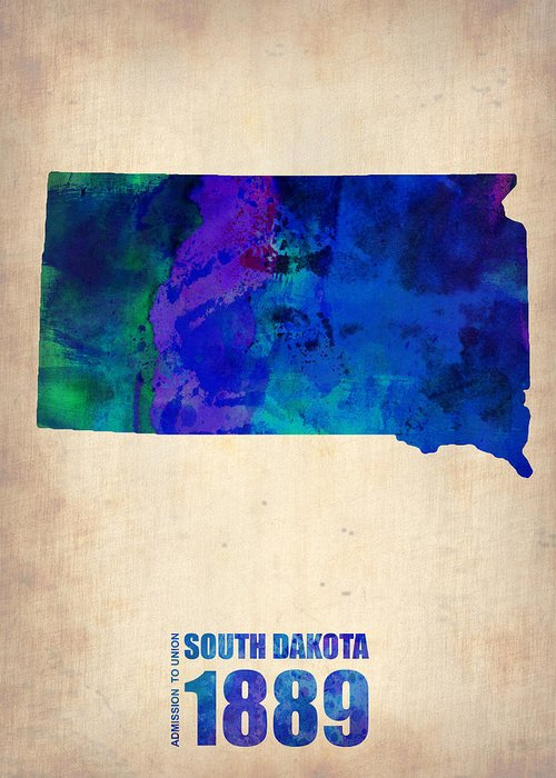 State Of South Dakota Greeting Cards