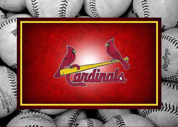 St Louis Cardinals Greeting Cards