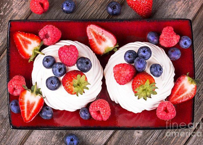 Berry Greeting Card featuring the photograph Summer Fruit Platter by Jane Rix