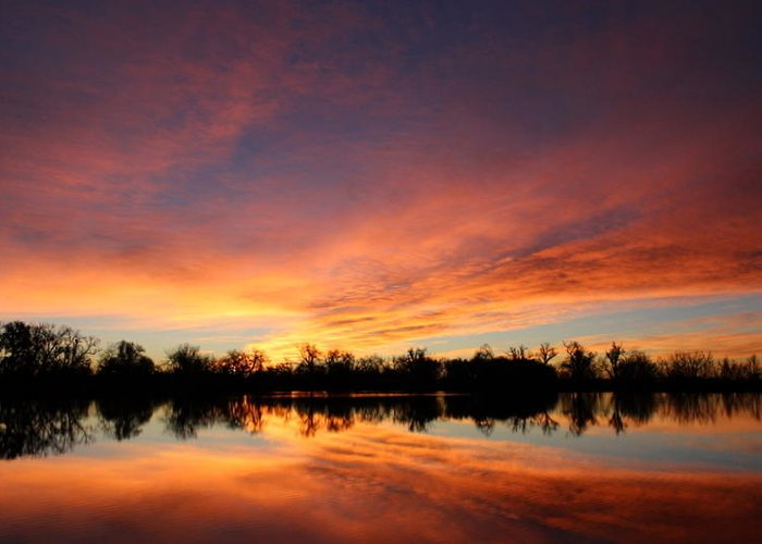 Sunrise Greeting Card featuring the photograph Sunrise 7 by Mark Wagner