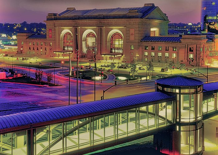 Union Station Greeting Card featuring the photograph Union Station by Don Wolf