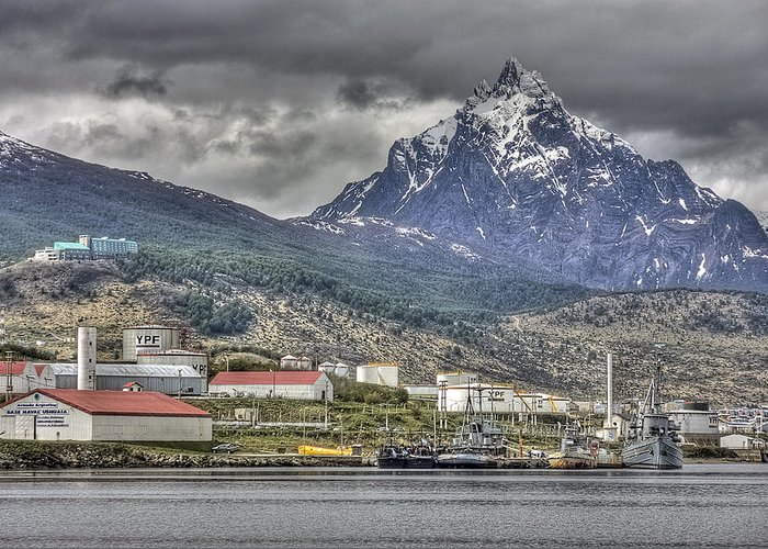 Ushuaia Greeting Card featuring the photograph Ushuaia by Bryan Hochman