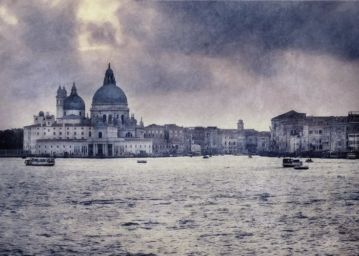 Venice Greeting Card featuring the photograph Venice Grand Canal by Carrie Kouri