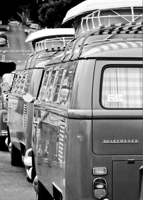 Volkswagen Vw Bus Greeting Card featuring the photograph Volkswagen Vw Bus by Jill Reger