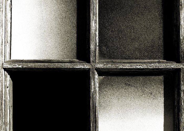 Barn Greeting Card featuring the photograph Window Pains by Thomas Shanahan