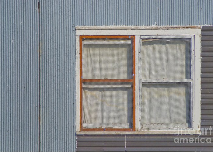 Window Greeting Card featuring the photograph Windows by Jim Wright