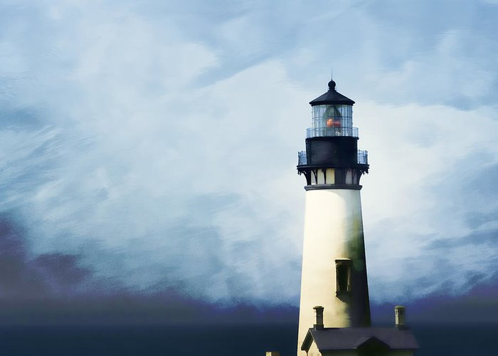 Yaquina Head Lighthouse Greeting Cards