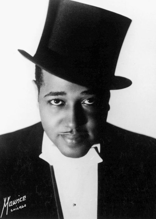 1934 Greeting Card featuring the photograph Duke Ellington (1899-1974) by Granger
