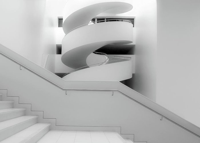 Architecture Greeting Card featuring the photograph Untitled by Anna Niemiec