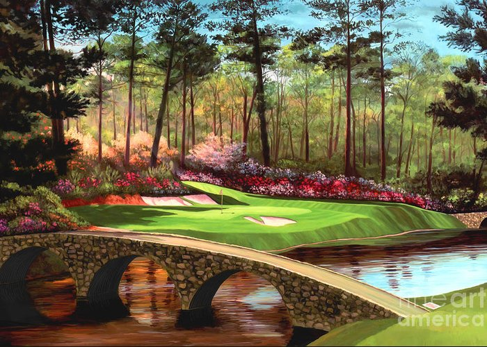 Augusta National Golf Club Greeting Cards