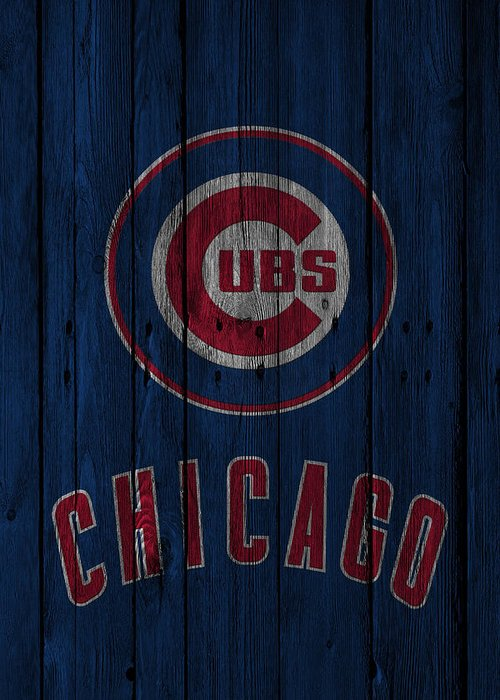 Cubs Greeting Card featuring the photograph Chicago Cubs by Joe Hamilton