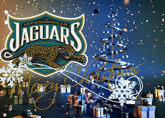 Jaguars Greeting Card featuring the photograph Jacksonville Jaguars by Joe Hamilton
