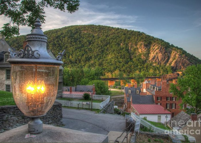 Harpers Ferry Greeting Card featuring the photograph Hdr - Harpers Ferry by Dem Wolfe