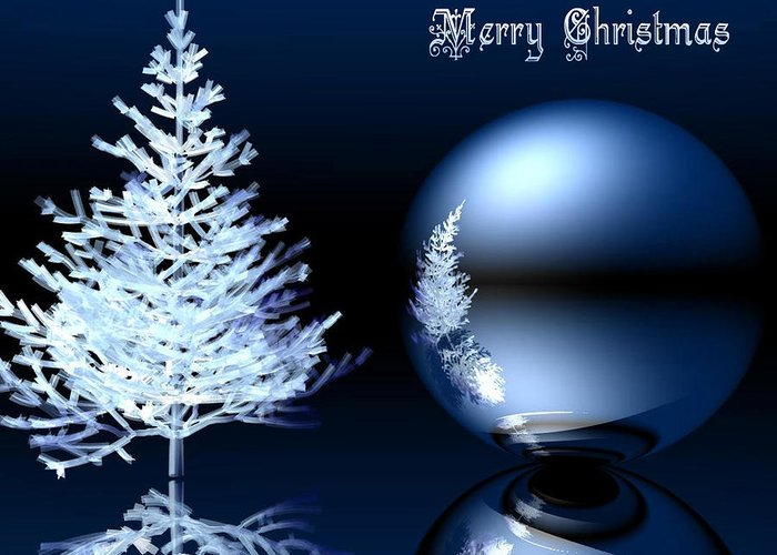 Merry Christmas Greeting Card featuring the photograph merry Christmas by Sareef Irshan