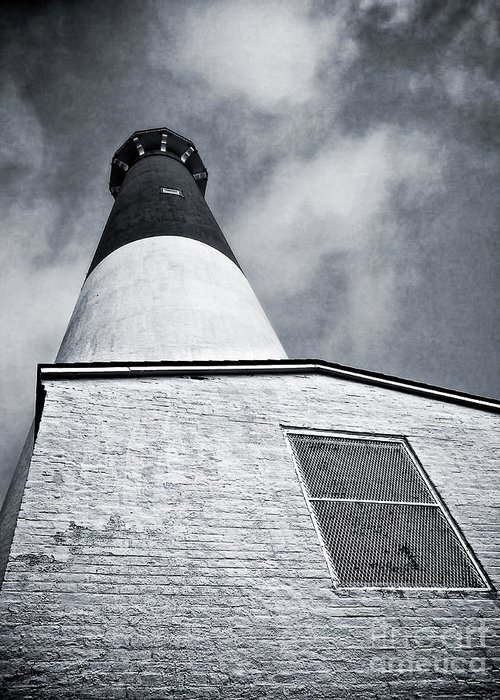 Lbi Greeting Card featuring the photograph 163 Feet Into The Clouds by Mark Miller