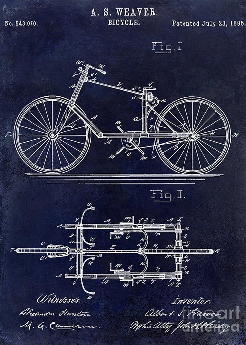 Vintage Bicycle Photographs Greeting Cards
