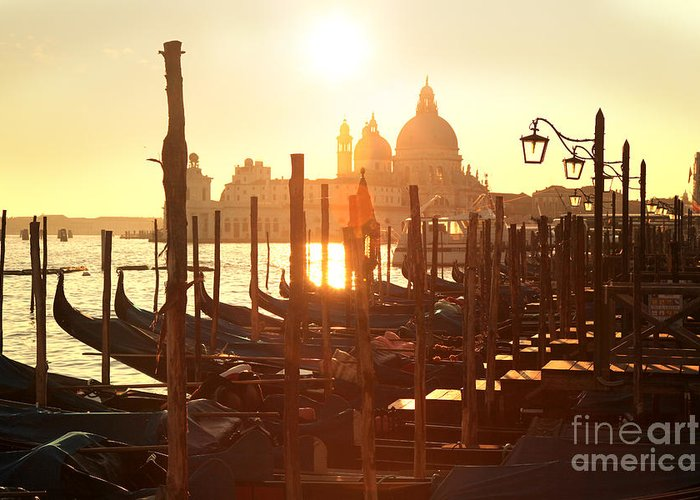 Architectural Greeting Card featuring the photograph Venice In Italy by Tomas Marek