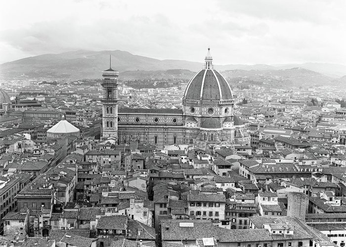 Duomo Di Firenze Greeting Cards